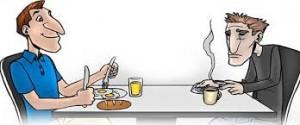 Skippa frukosten och gå ner i vikt